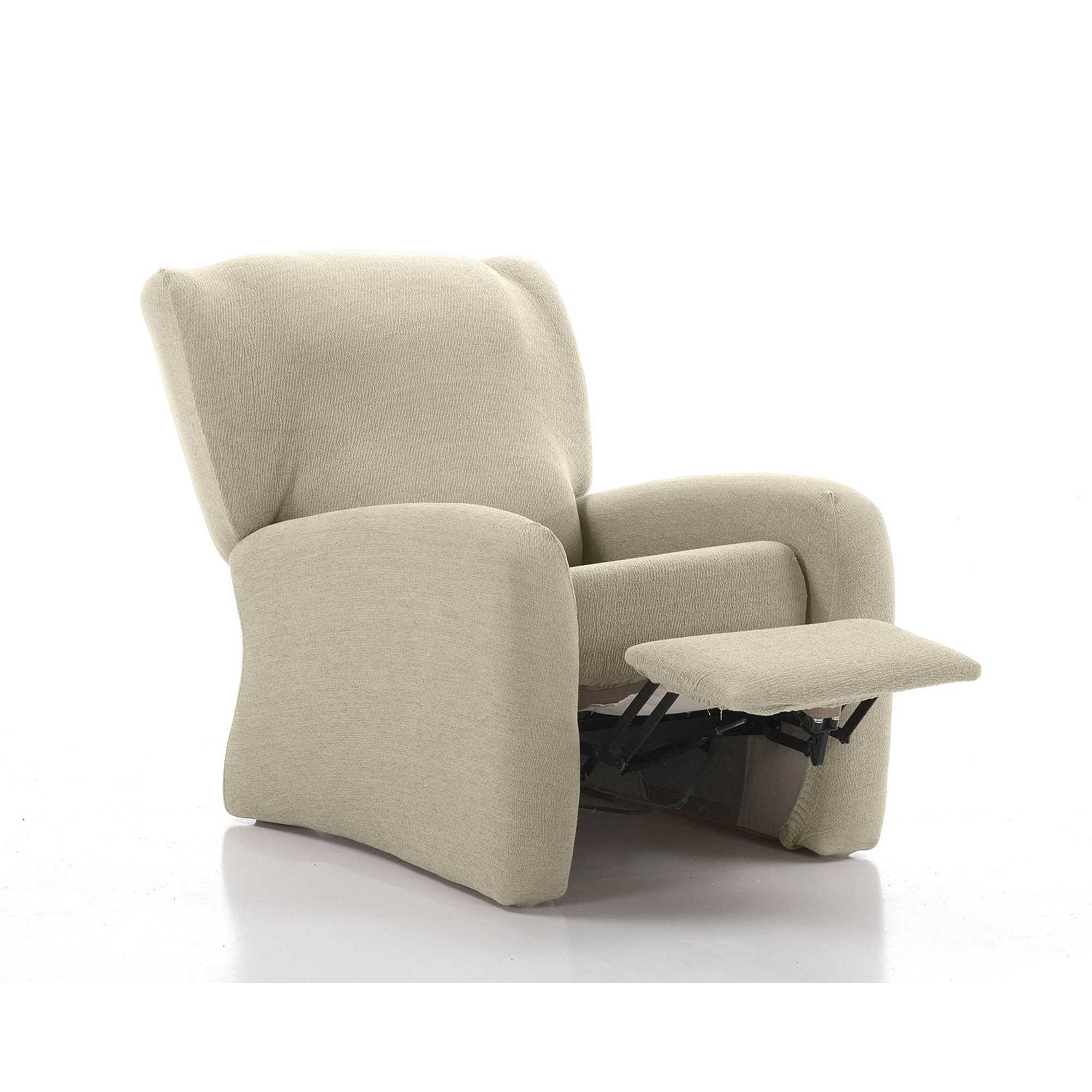 FUNDA SOFÁ SILLON RELAX ENZO NATURAL 1 PLAZA